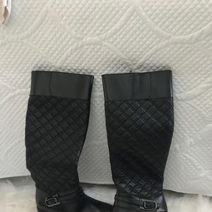 Leather, lined women's boots